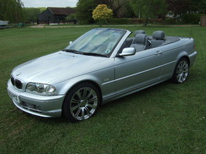 2002 BMW E46 330Ci Convertible For Sale