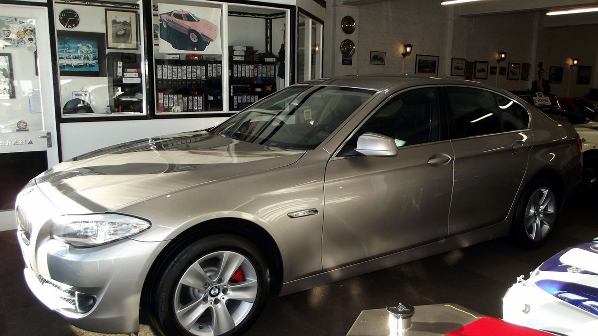 2013 BMW 520D EfficentDynamics 2000cc 4 door Saloon SOLD (picture 3 of 6)