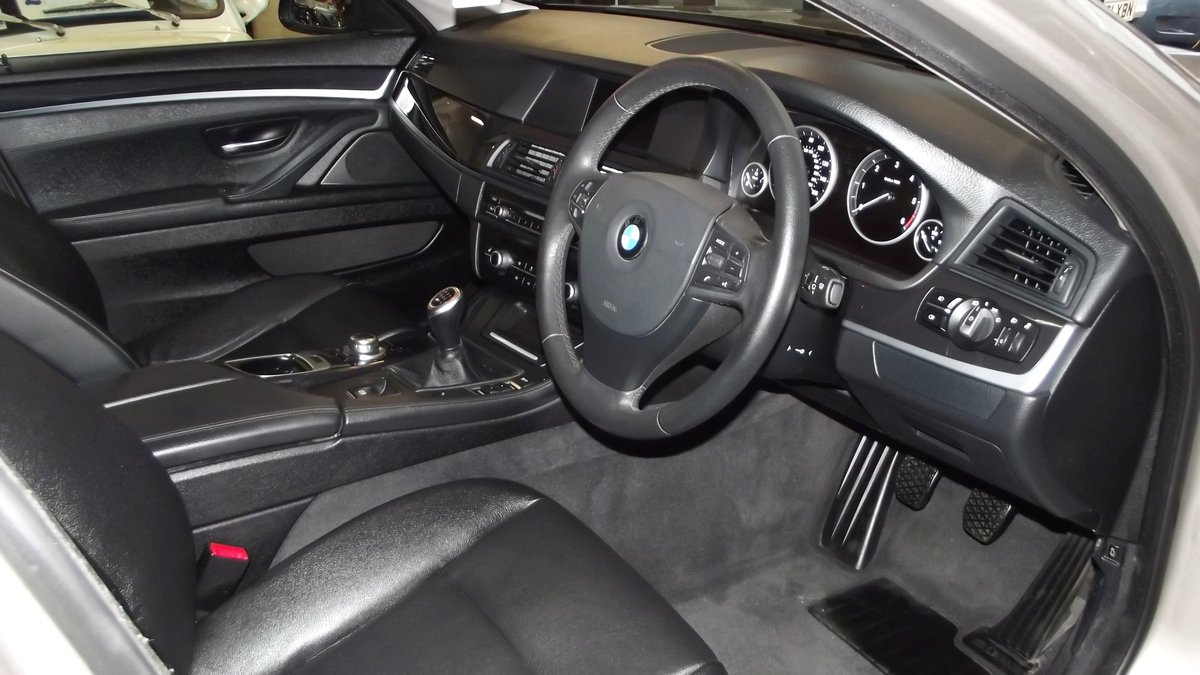 2013 BMW 520D EfficentDynamics 2000cc 4 door Saloon SOLD (picture 4 of 6)