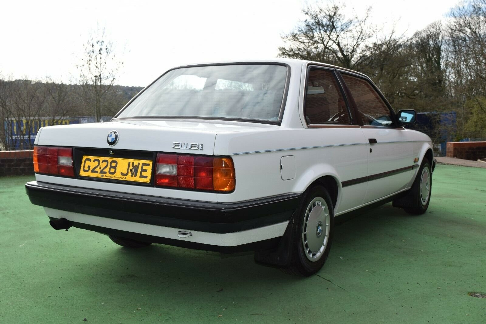 1989 BMW E30 3 Door, 1 owner from new, Low Miles, FSH For Sale (picture 5 of 6)