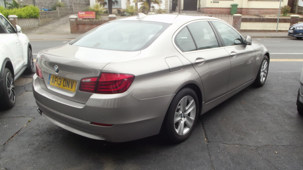 2013 BMW 520D EfficentDynamics 2000cc 4 door Saloon SOLD (picture 2 of 6)