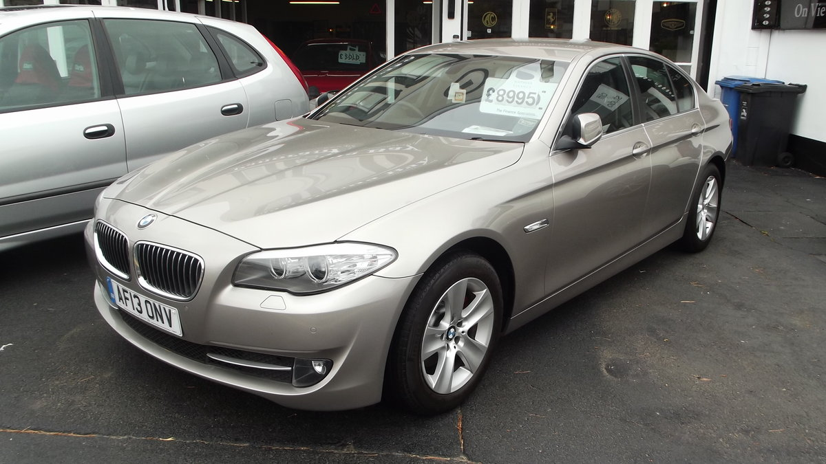 2013 BMW 520D EfficentDynamics 2000cc 4 door Saloon SOLD (picture 1 of 6)