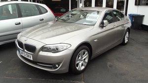 2013 BMW 520D EfficentDynamics 2000cc 4 door Saloon SOLD