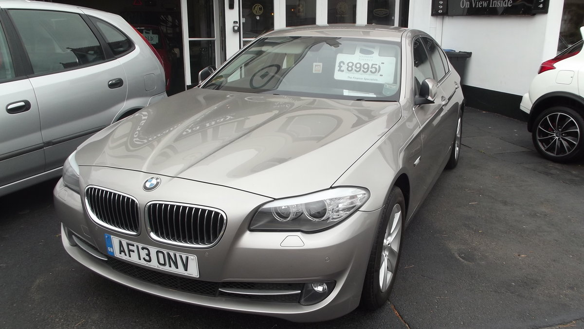 2013 BMW 520D EfficentDynamics 2000cc 4 door Saloon SOLD (picture 6 of 6)