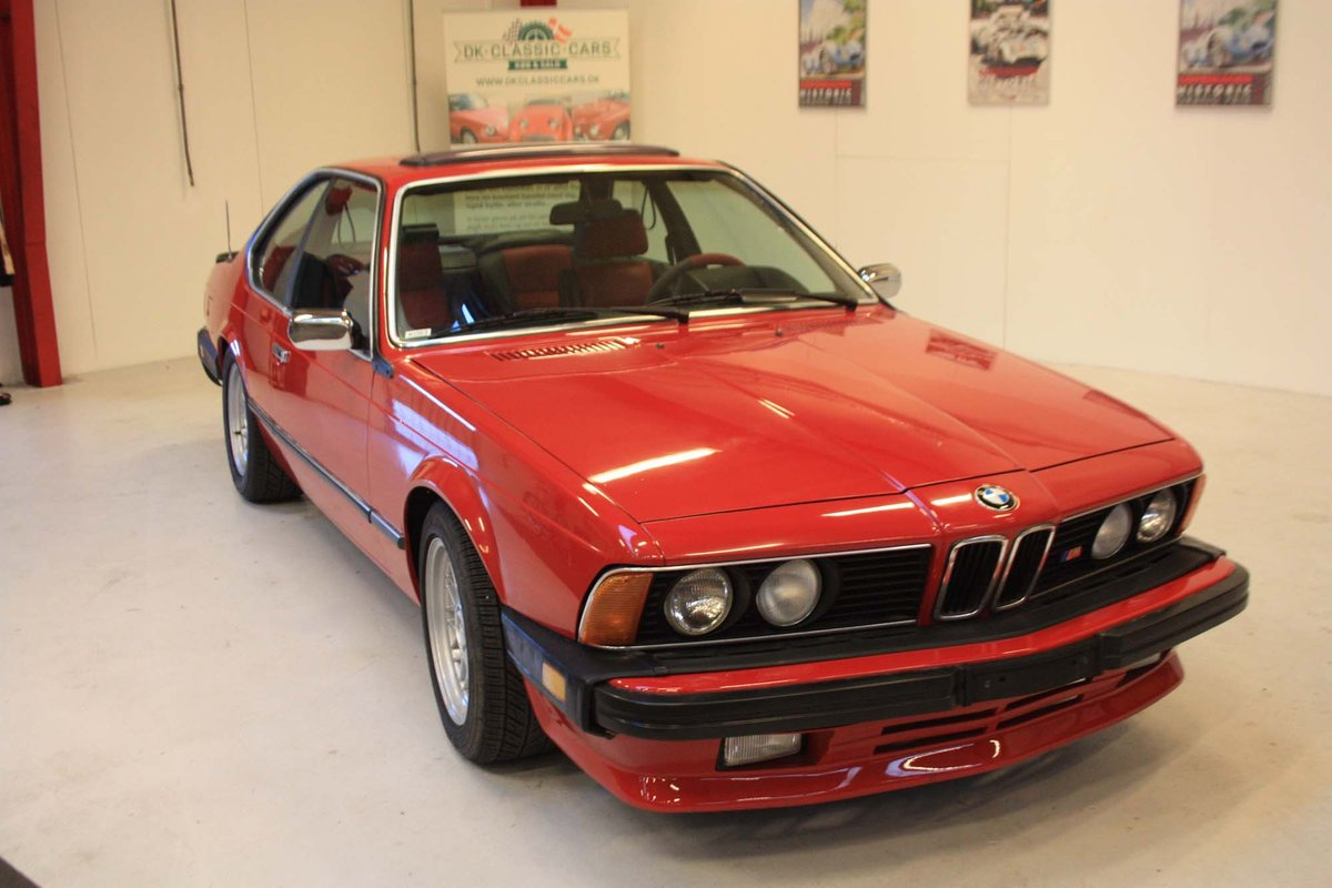 1987 BMW 635 CSi with M upgraders and styling For Sale (picture 1 of 6)