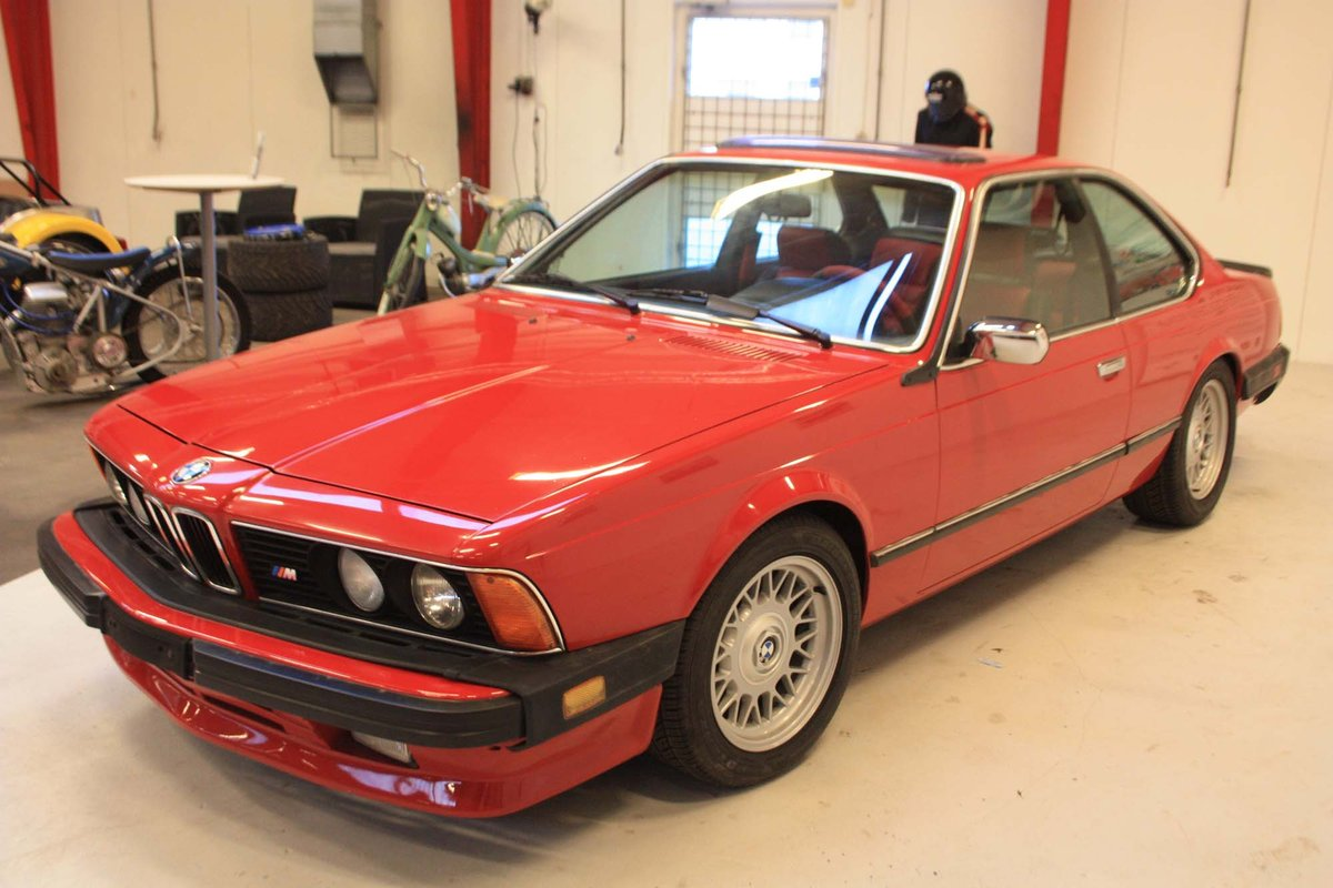 1987 BMW 635 CSi with M upgraders and styling For Sale (picture 2 of 6)