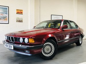 1991 2 owner bmw 735i se - wonderful service history SOLD