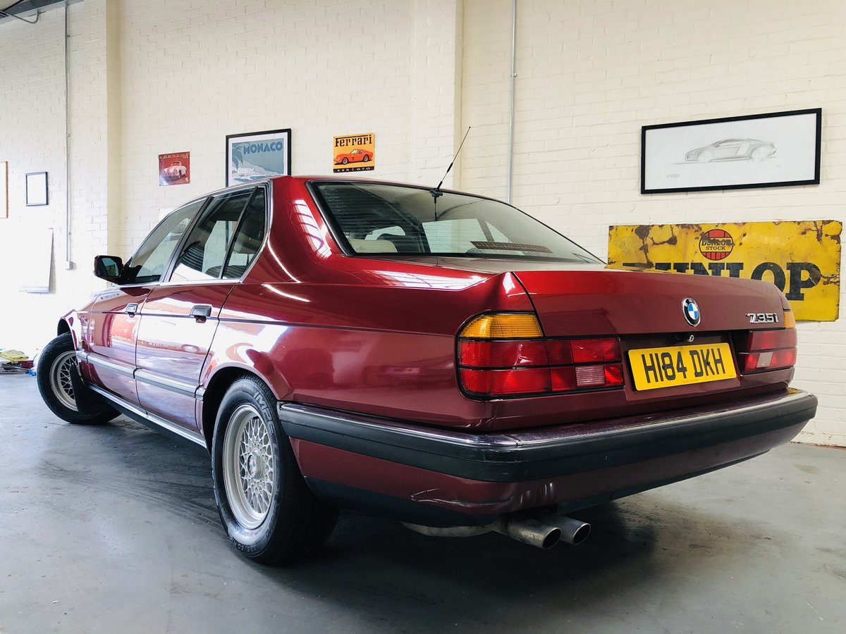 1991 2 owner bmw 735i se - wonderful service history SOLD (picture 2 of 6)
