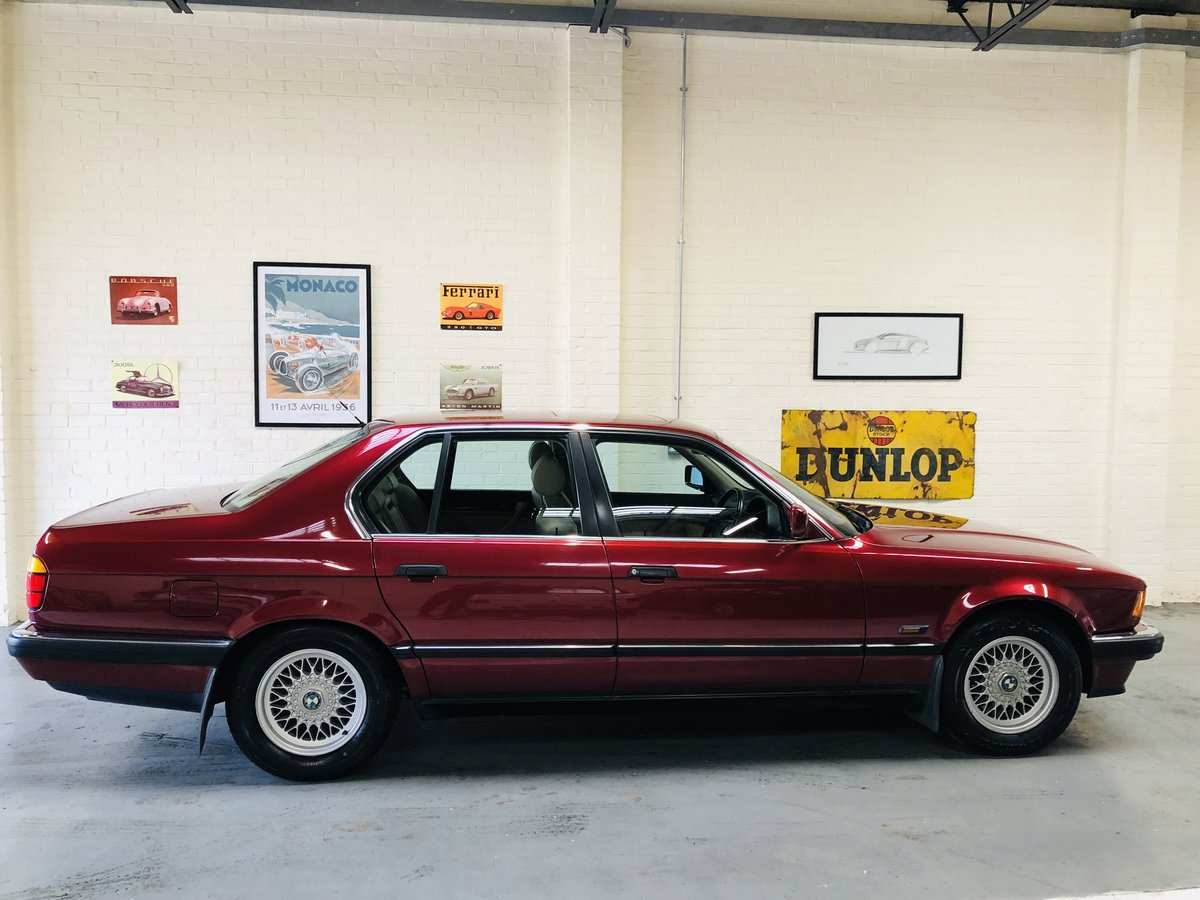 1991 2 owner bmw 735i se - wonderful service history SOLD (picture 3 of 6)