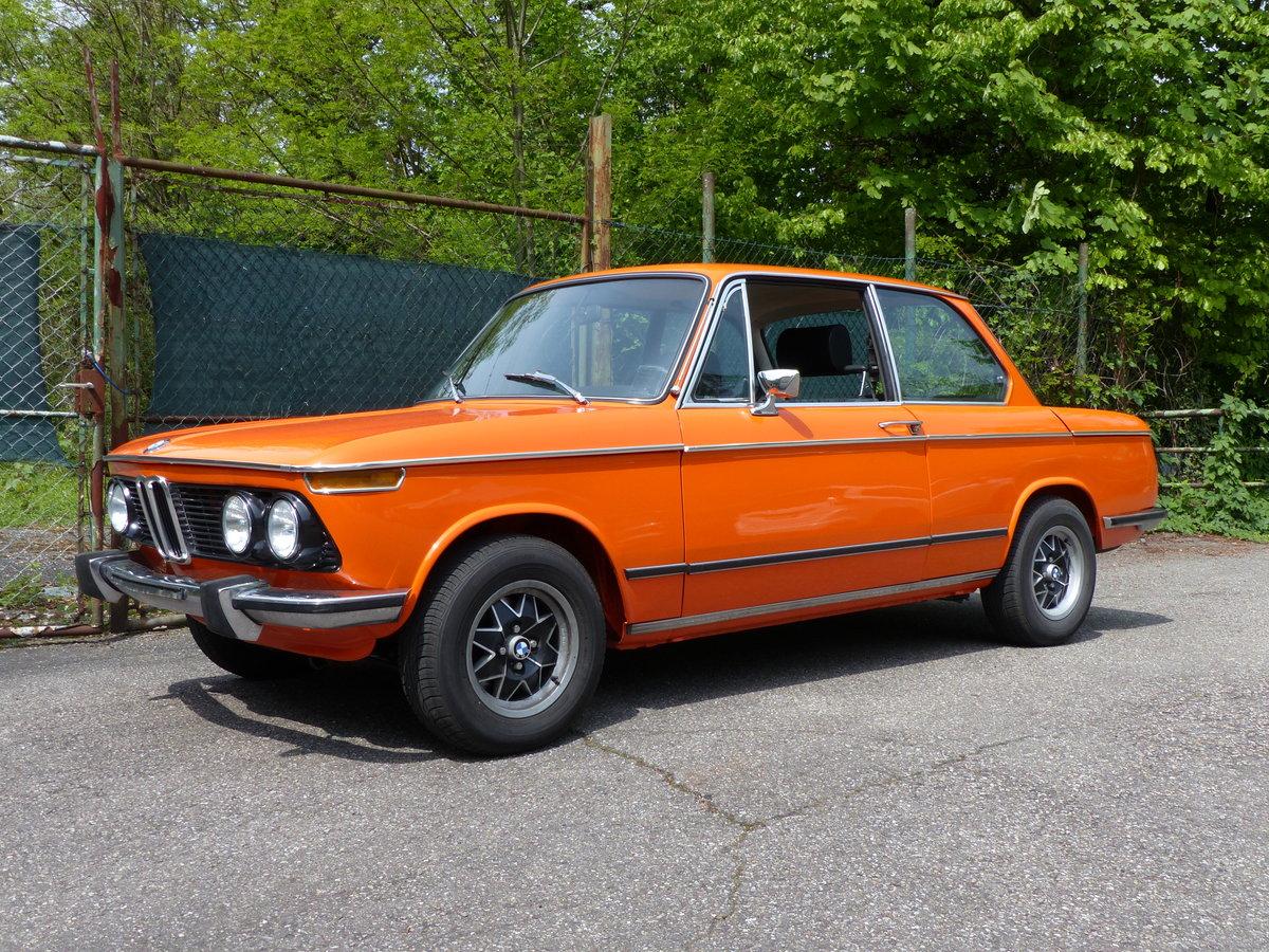 1973 splendid and original BMW 2002 tii, 28000 mi SOLD (picture 1 of 6)