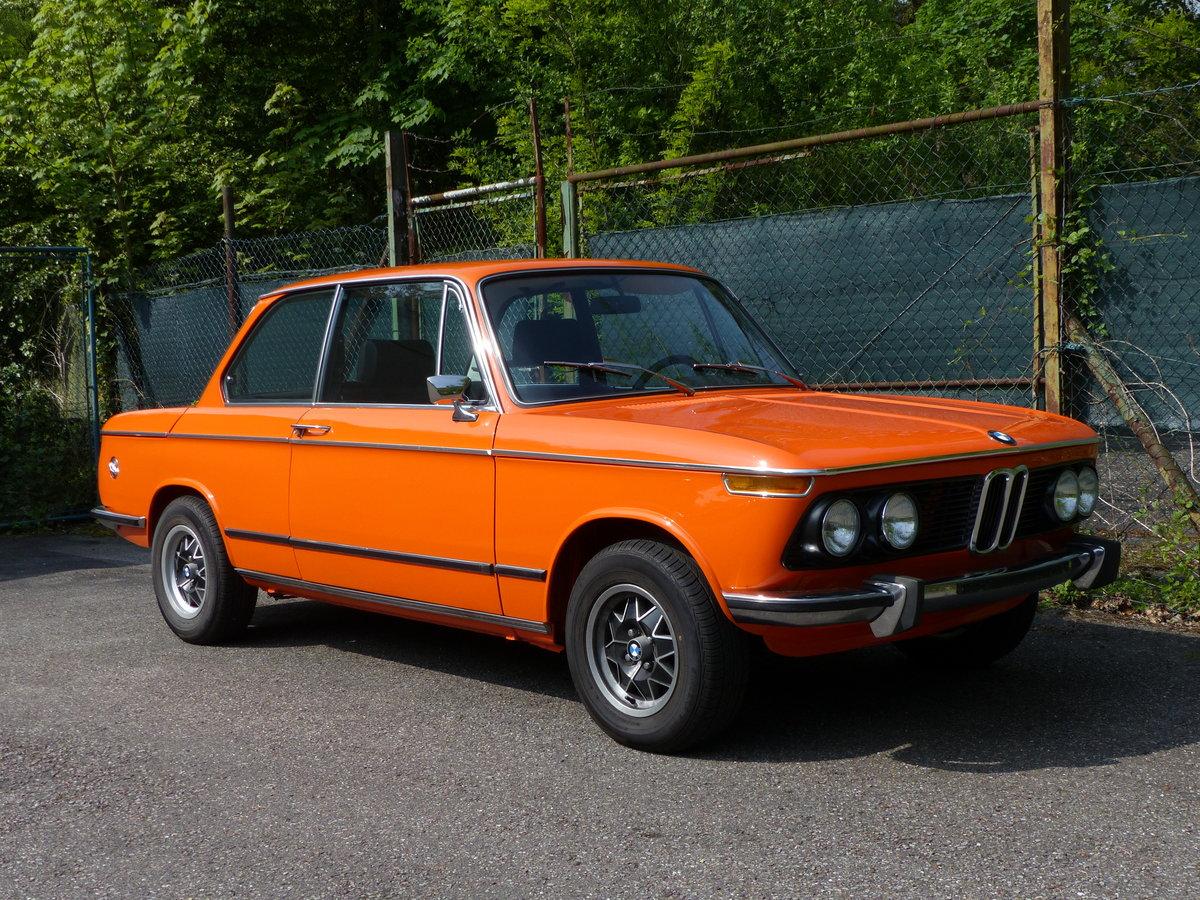 1973 splendid and original BMW 2002 tii, 28000 mi SOLD (picture 2 of 6)
