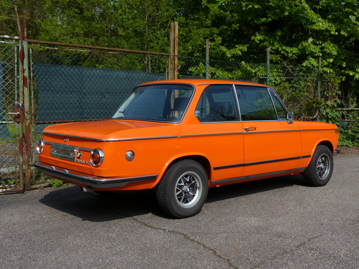 1973 splendid and original BMW 2002 tii, 28000 mi SOLD (picture 3 of 6)