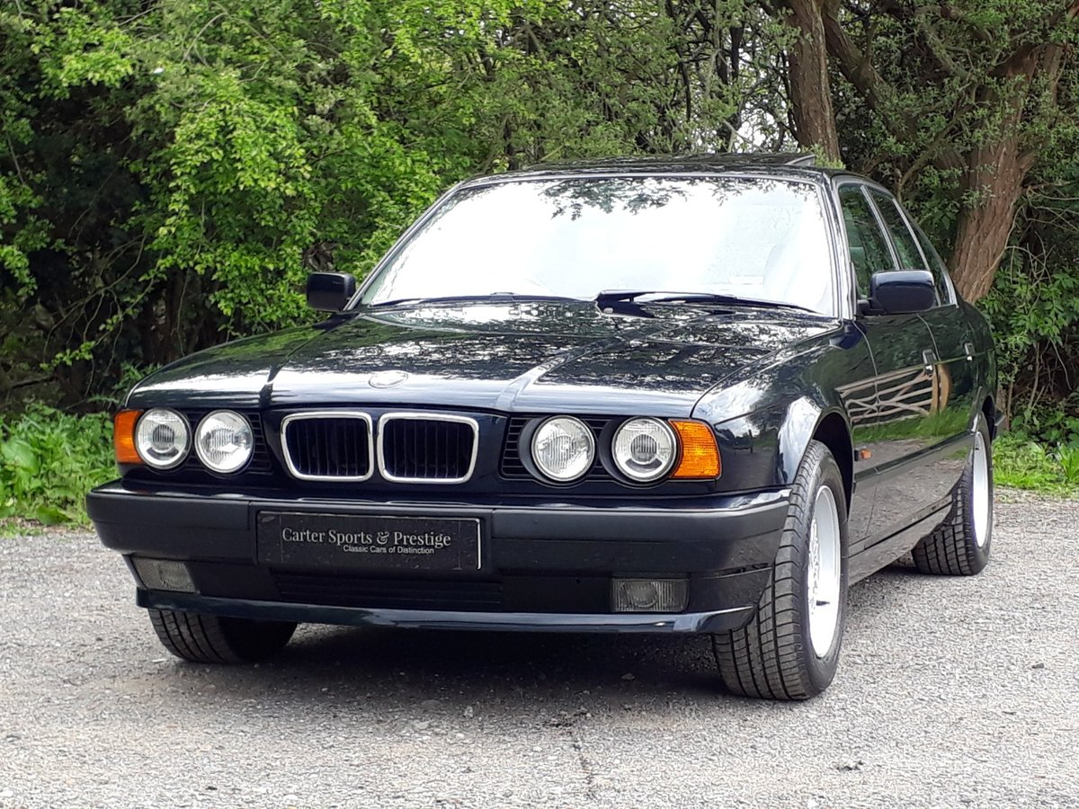 CONCOURS 1995 BMW 520i SE-24V VIRTUALLY AS-NEW! For Sale (picture 1 of 6)
