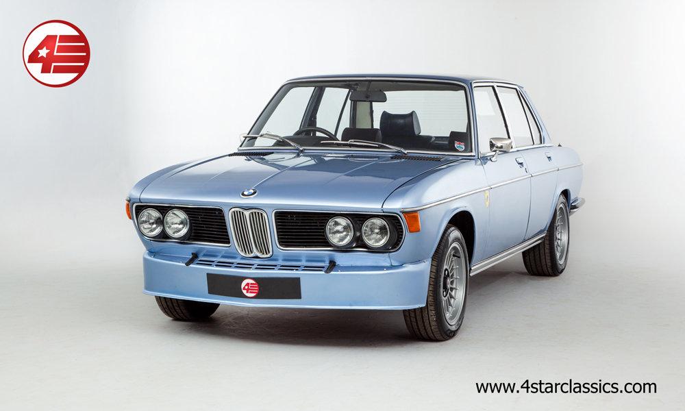 1972 BMW E3 3.0S RHD /// Manual /// Alpina Alloys etc. For Sale (picture 1 of 6)