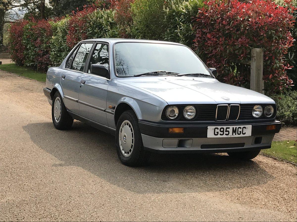 1989 BMW 316i E30 4 Door Auto 61,800 miles SOLD (picture 1 of 6)