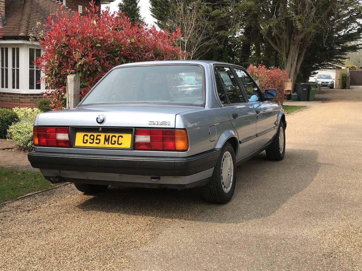 1989 BMW 316i E30 4 Door Auto 61,800 miles SOLD (picture 2 of 6)
