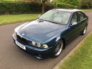 2003 BMW 530i M sport, Aegean Blue Individual Version  For Sale