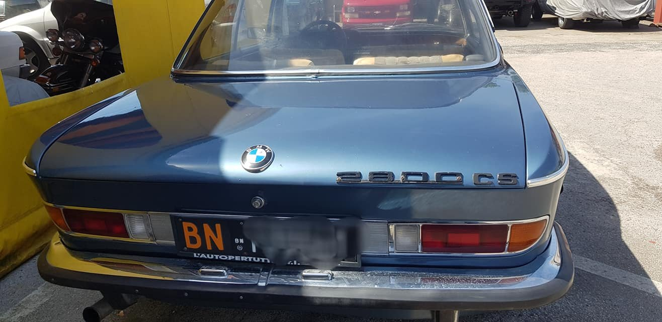 1969 bmw 2800 cs coupe running and driving 22000,00 euro SOLD (picture 2 of 6)