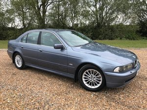 2001 BMW 5 SERIES E39 530i 3.0 SE AUTOMATIC SALOON For Sale