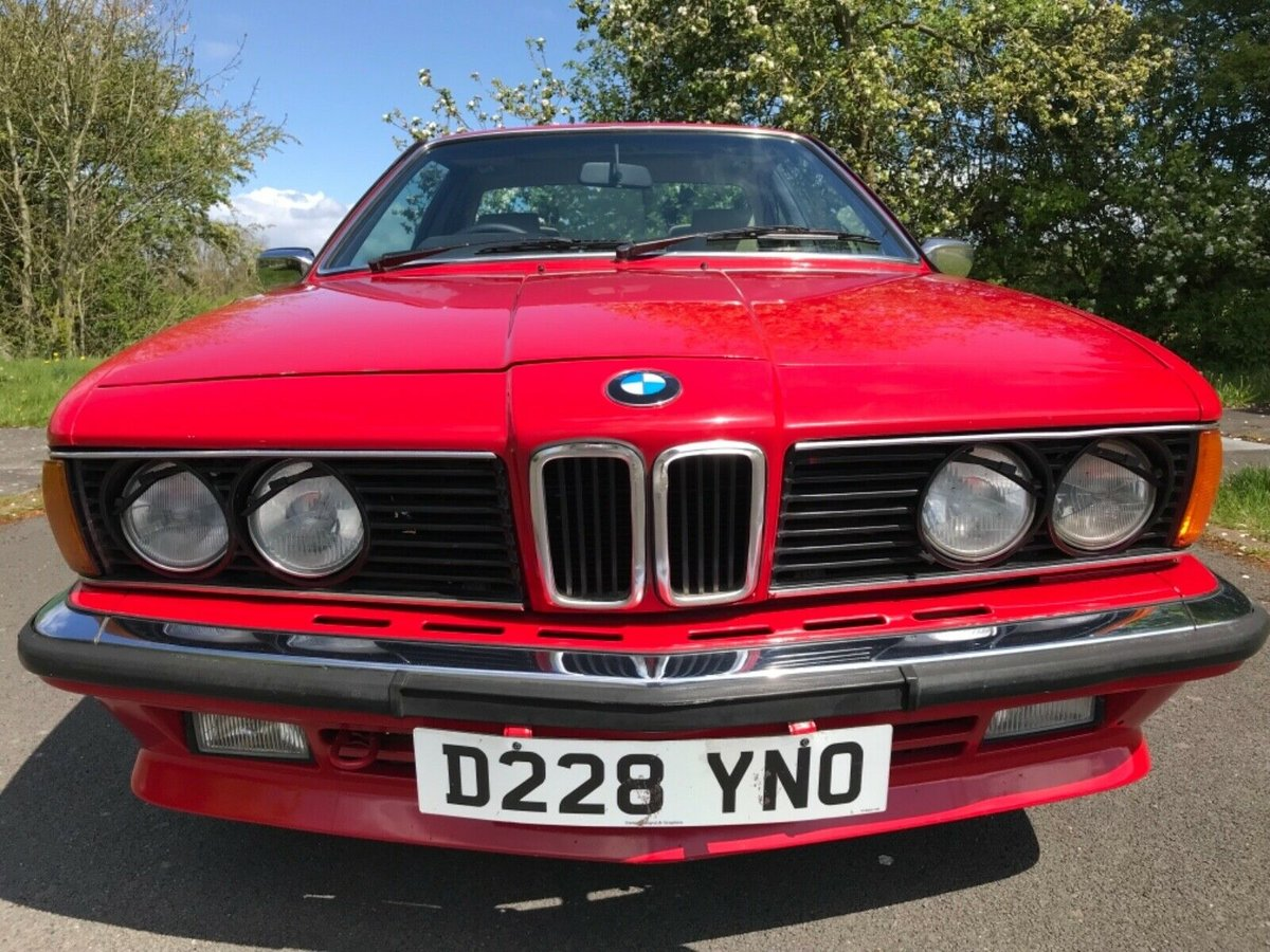 1987 Bmw 635 csi in red For Sale (picture 1 of 6)