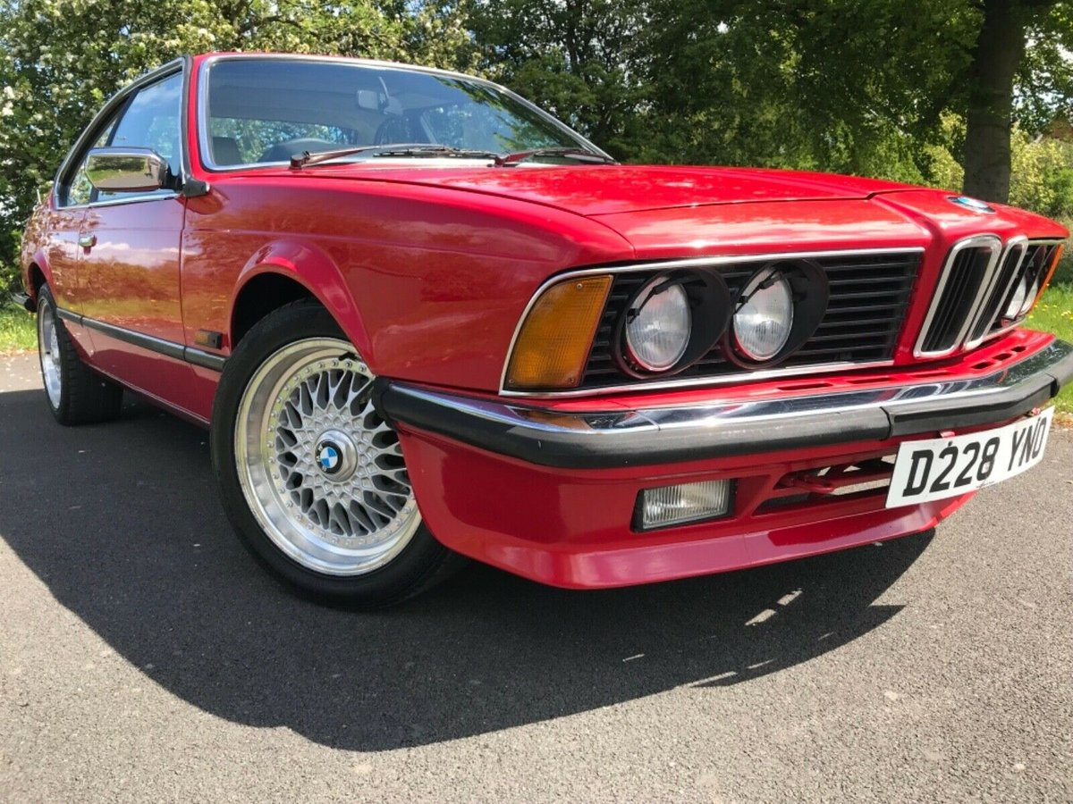 1987 Bmw 635 csi in red For Sale (picture 4 of 6)
