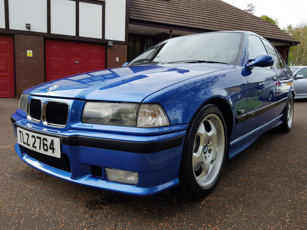 1996 BMW E36 M3 Evo Saloon For Sale (picture 2 of 6)