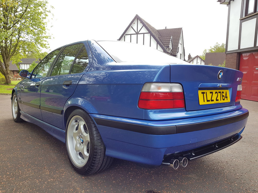1996 BMW E36 M3 Evo Saloon For Sale (picture 3 of 6)