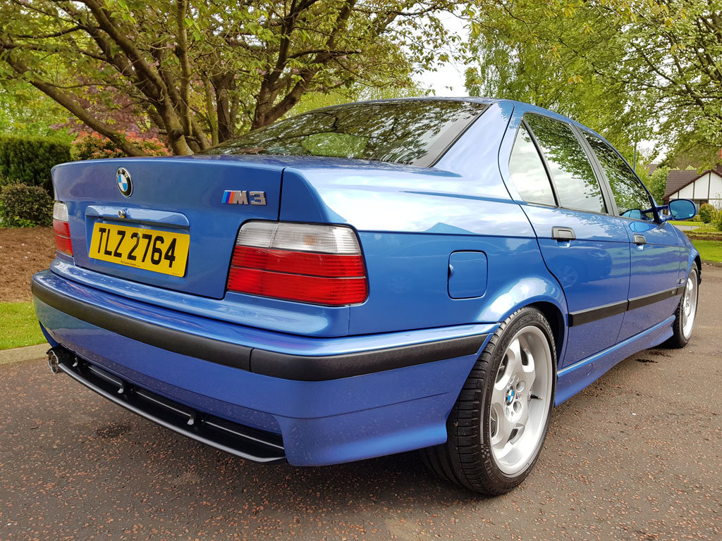 1996 BMW E36 M3 Evo Saloon For Sale (picture 4 of 6)