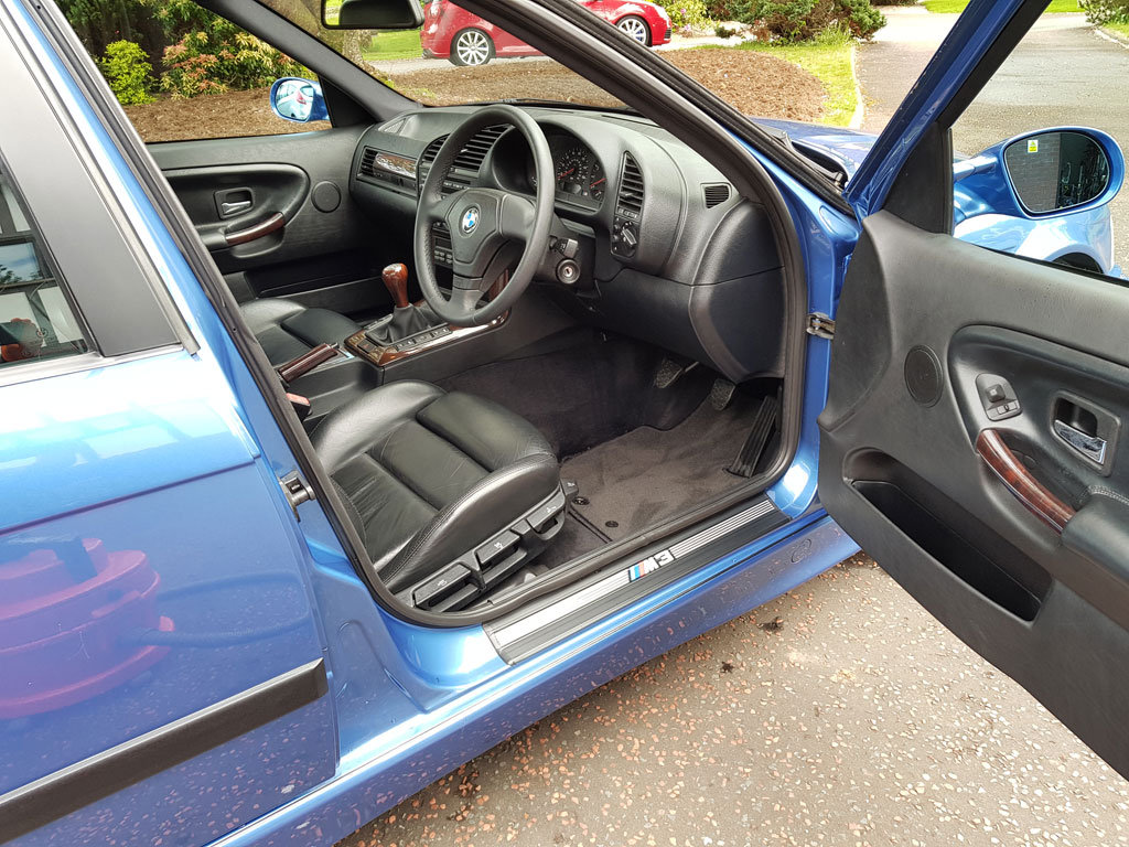 1996 BMW E36 M3 Evo Saloon For Sale (picture 5 of 6)