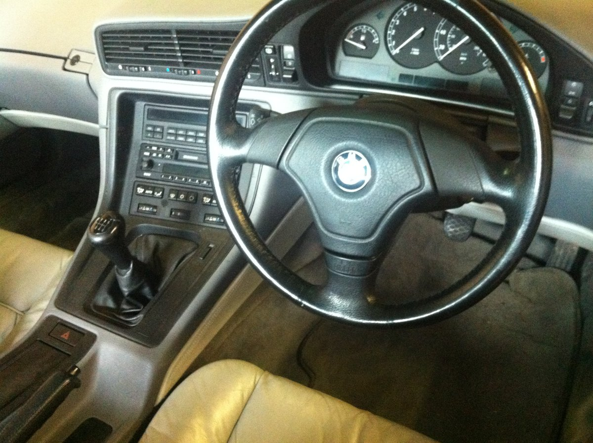 1996 Rare BMW 840 6 speed Manual, with service history For Sale (picture 1 of 6)