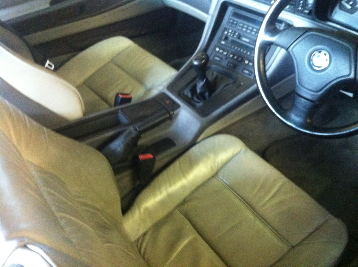 1996 Rare BMW 840 6 speed Manual, with service history For Sale (picture 2 of 6)