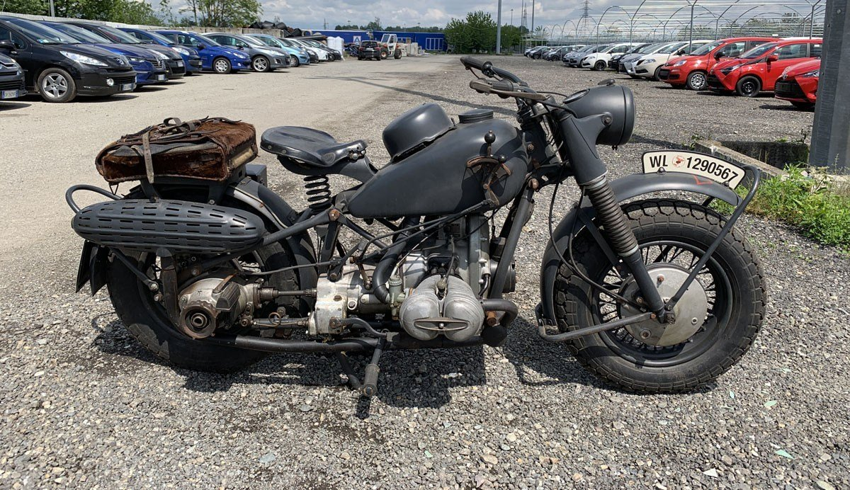 1941 BMW R75 For Sale by Auction (picture 1 of 3)