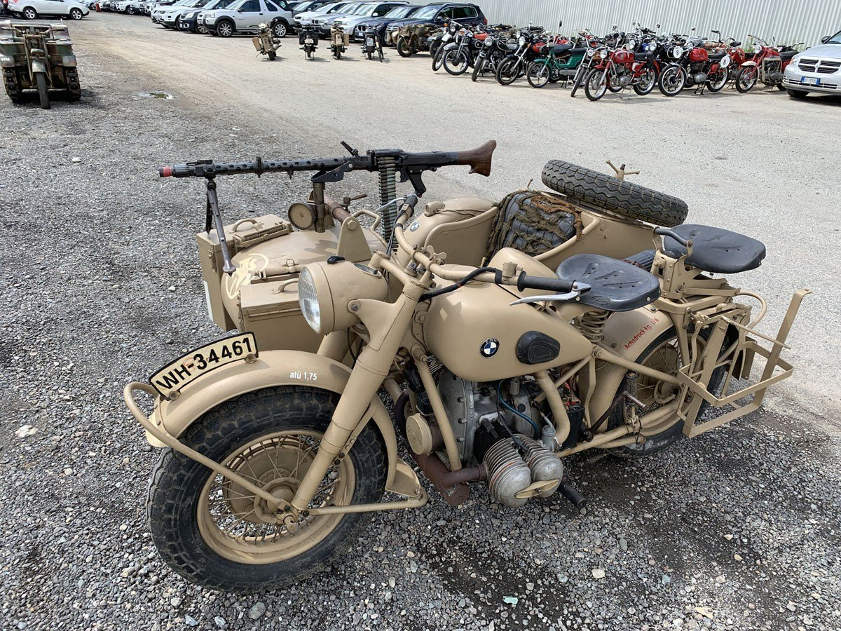 1941 BMW R75 with Sidecar For Sale by Auction (picture 1 of 3)