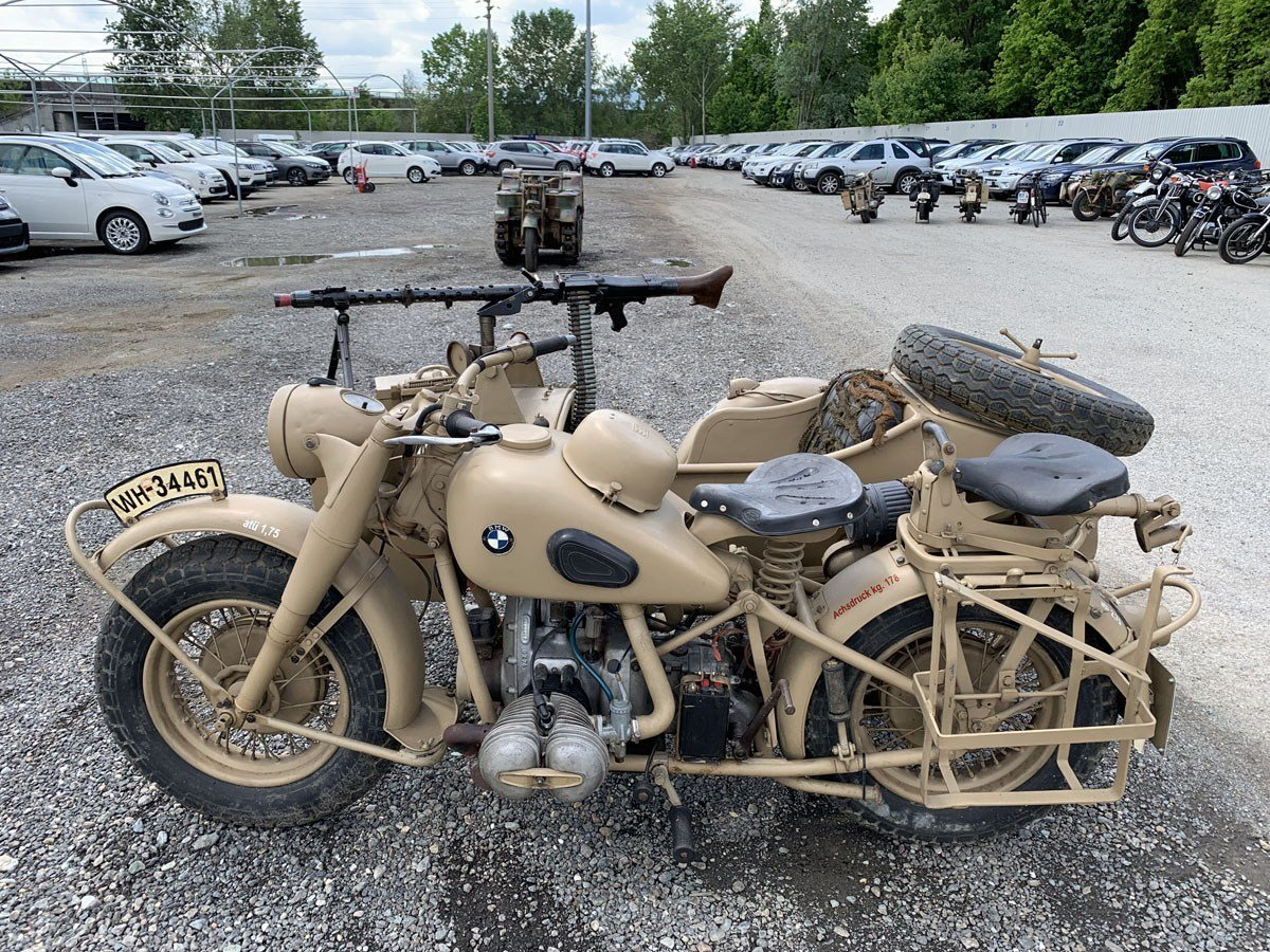1941 BMW R75 with Sidecar For Sale by Auction (picture 2 of 3)