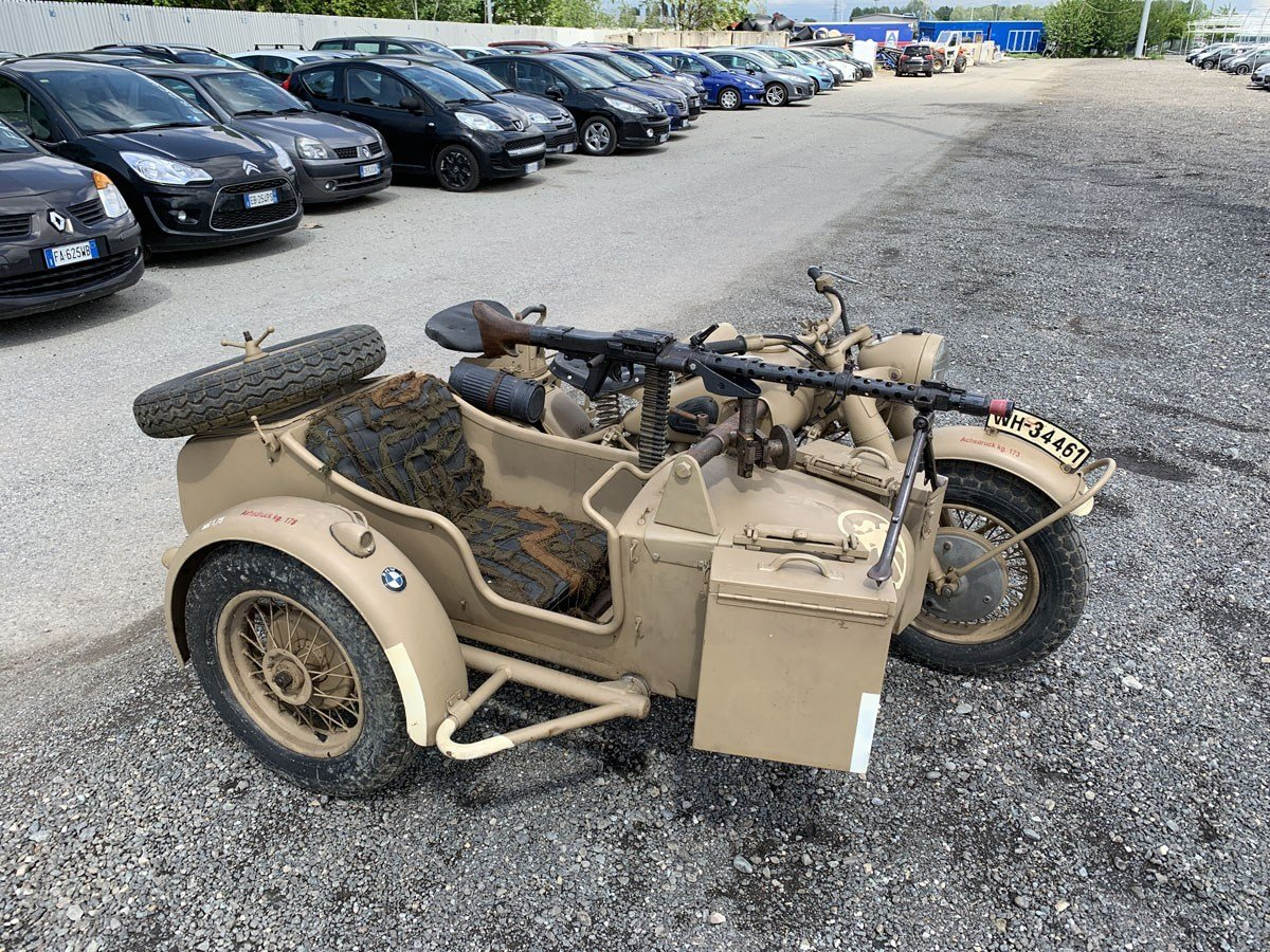 1941 BMW R75 with Sidecar For Sale by Auction (picture 3 of 3)