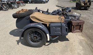 1943 BMW R75 with Sidecar