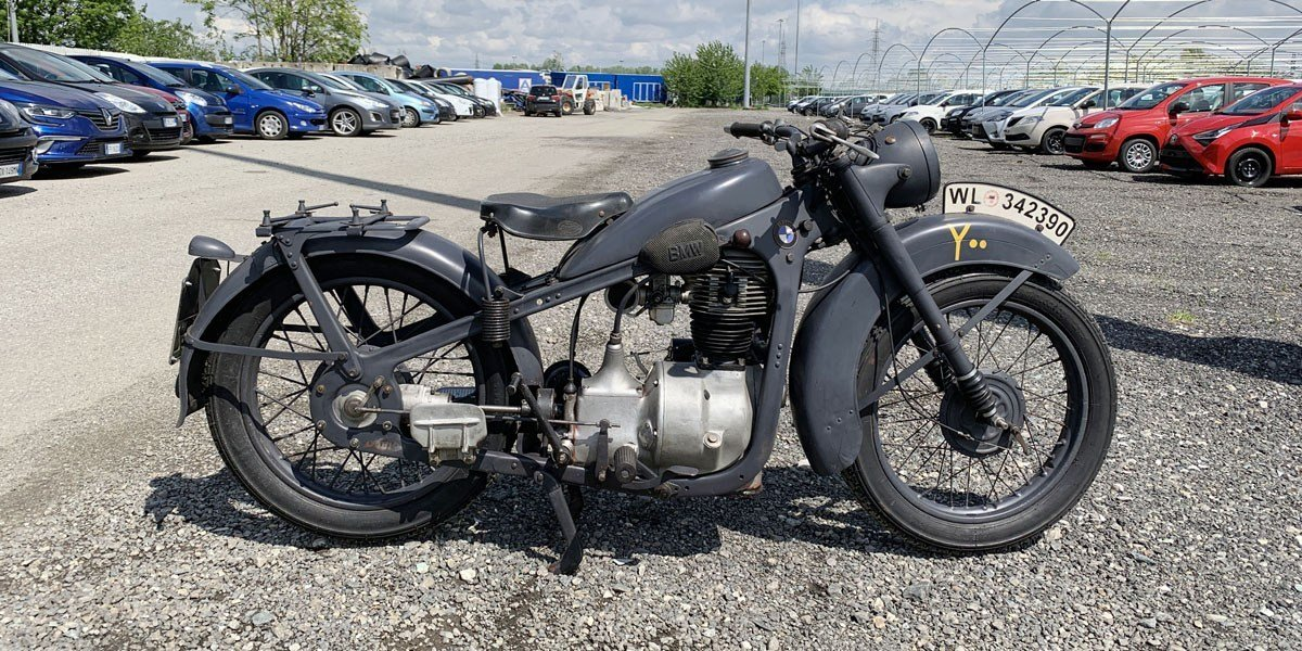 1940 BMW R35 For Sale by Auction (picture 1 of 4)