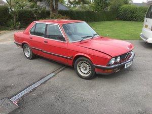 1988 E28 520i Lux For Sale