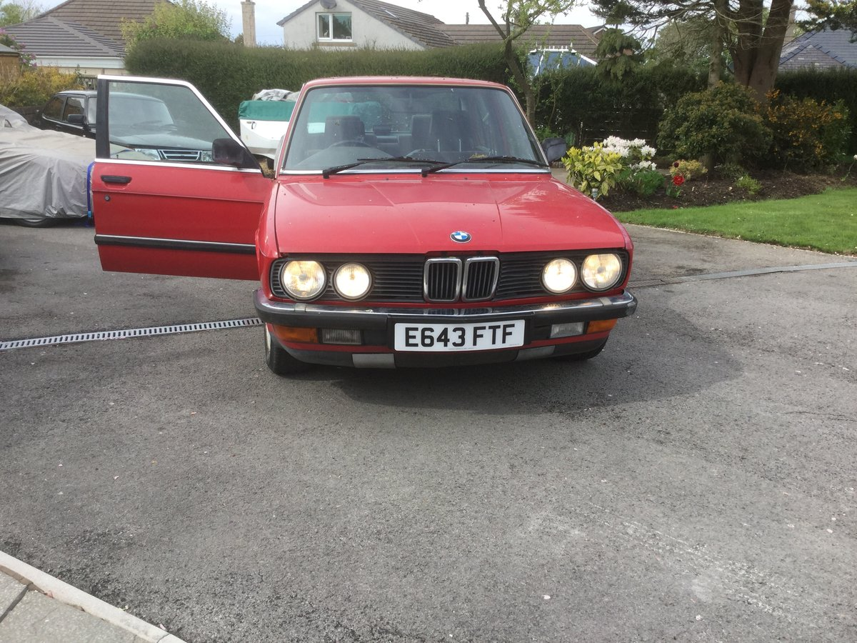 1988 E28 520i Lux For Sale (picture 2 of 6)