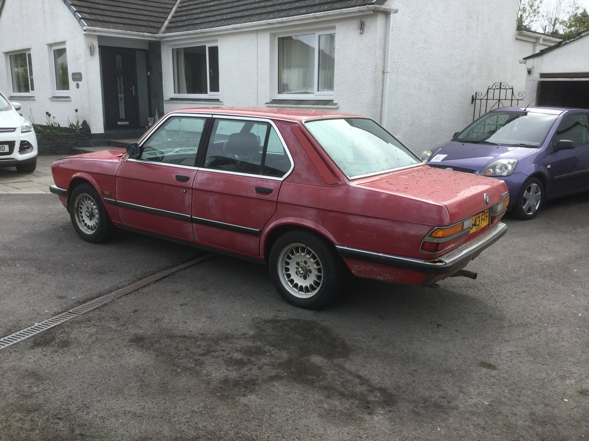 1988 E28 520i Lux For Sale (picture 4 of 6)