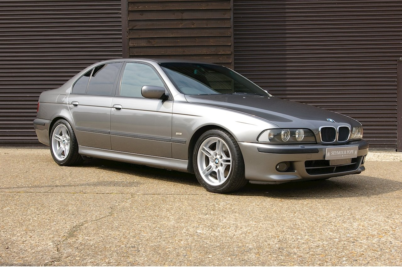 2002 BMW E39 530i M-Sport Automatic Saloon (46,142 miles) SOLD (picture 1 of 6)