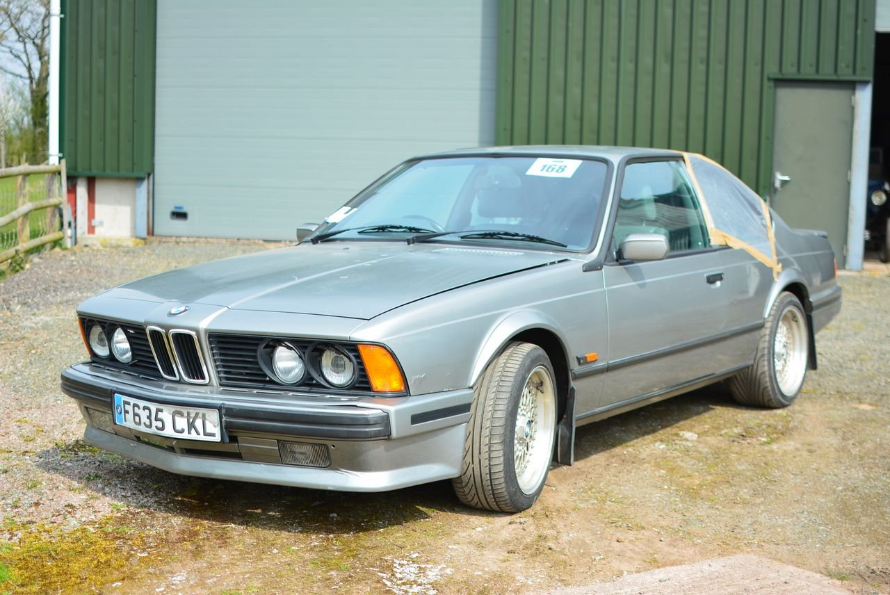 1988 BMW 635 CSI for restoration SOLD (picture 2 of 6)