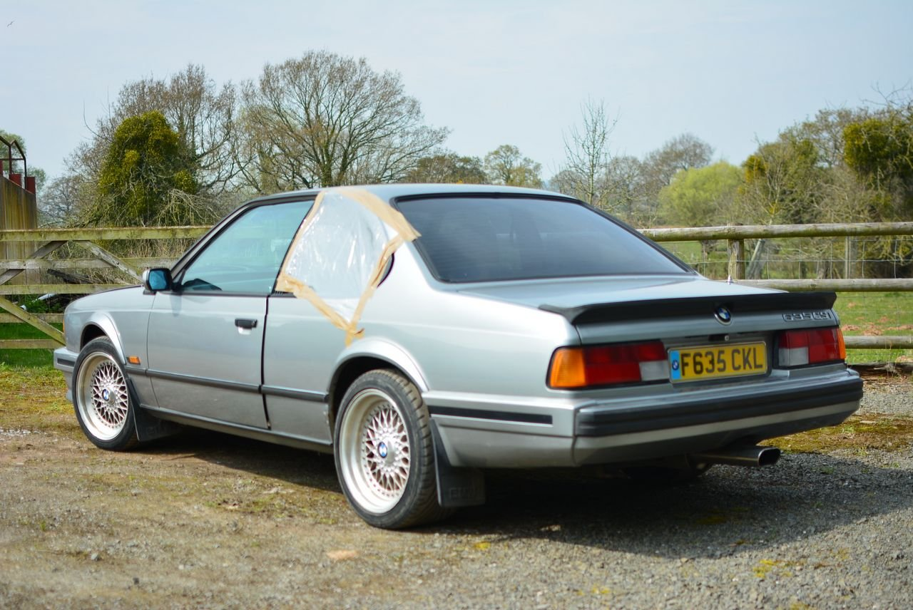 1988 BMW 635 CSI for restoration SOLD (picture 3 of 6)