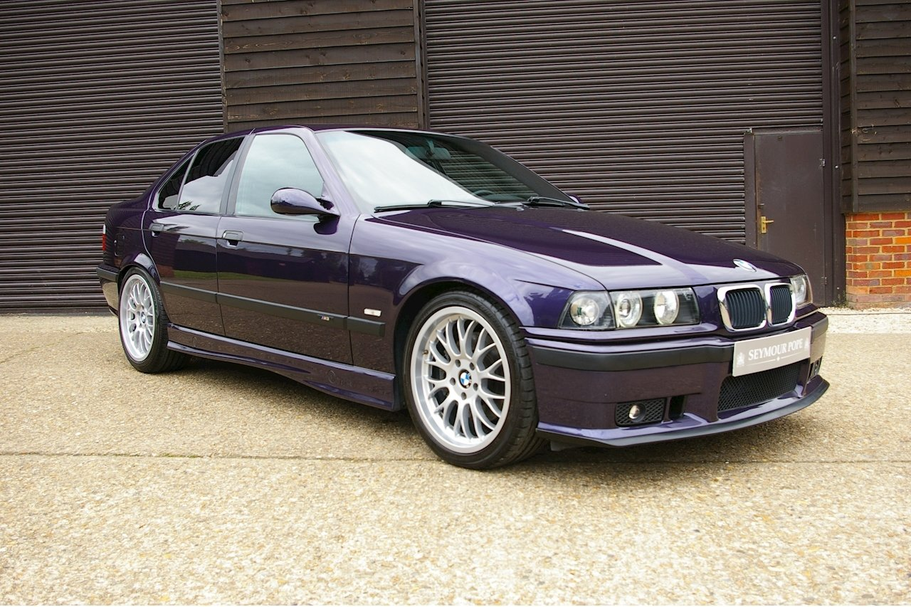 1997 BMW E36 M3 3.2 Saloon 5 Speed Manual (54,464 miles) For Sale (picture 1 of 6)
