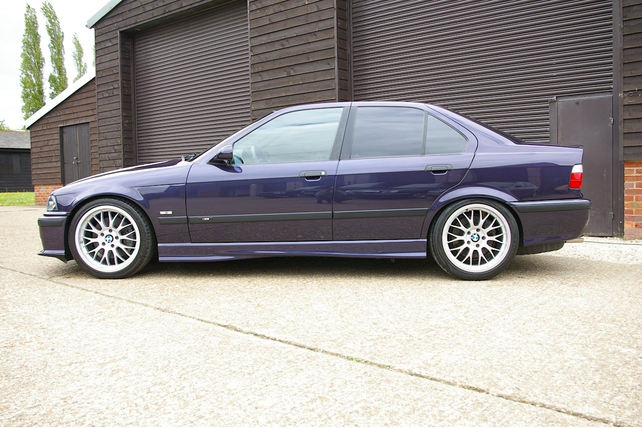 1997 BMW E36 M3 3.2 Saloon 5 Speed Manual (54,464 miles) For Sale (picture 2 of 6)