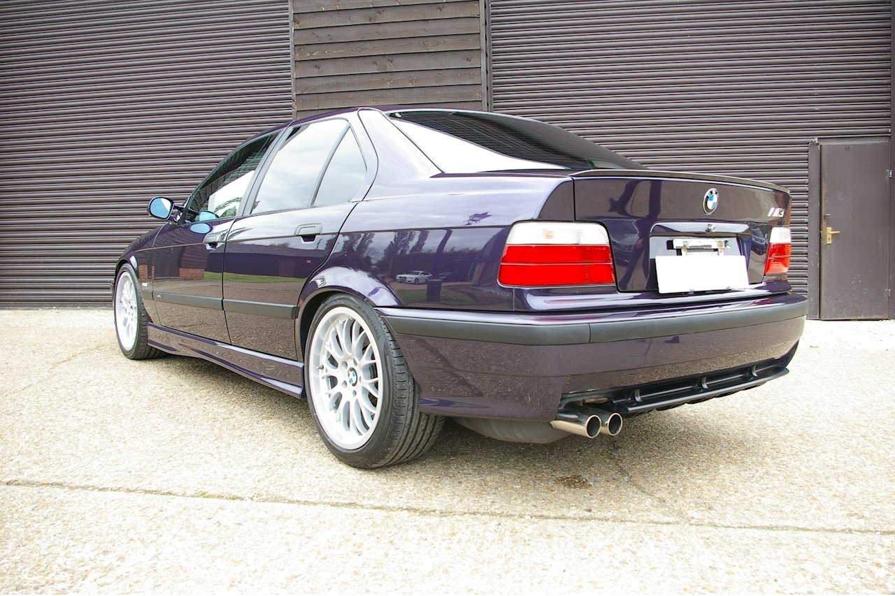 1997 BMW E36 M3 3.2 Saloon 5 Speed Manual LHD (54,464 miles) For Sale (picture 3 of 6)