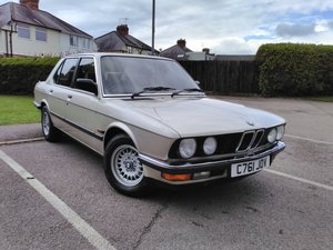 1986 BMW E28 525e One Previous owner For Sale