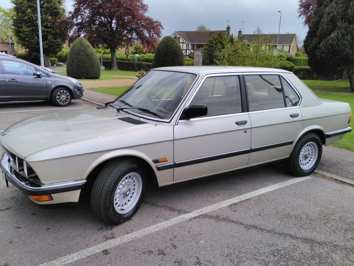1986 BMW E28 525e One Previous owner For Sale (picture 4 of 6)