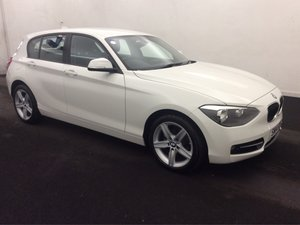 2014/14 BMW 1 Series 2.0 116d Sport 5dr s/s 35415 miles FSH For Sale
