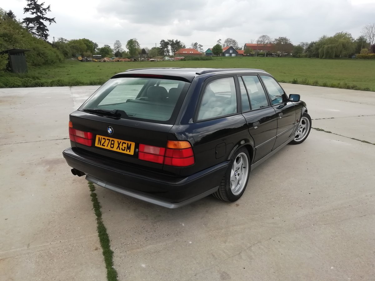1996 UK RHD E34 M5 Touring SOLD (picture 4 of 6)